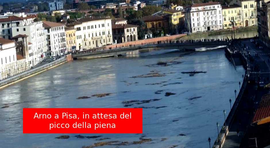 Piena Arno a Pisa