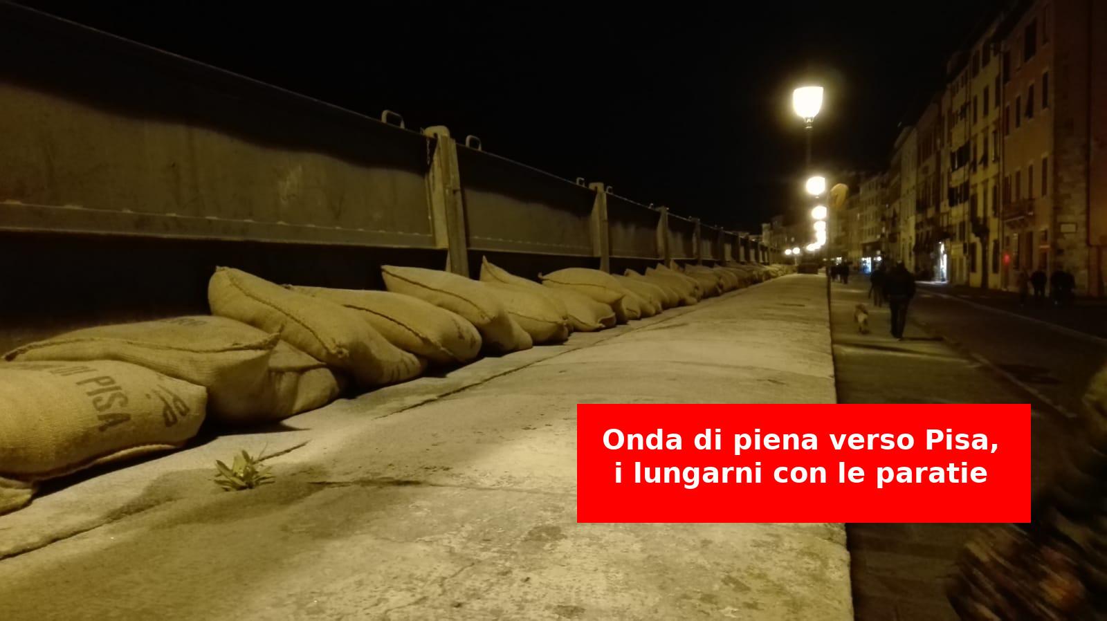 Piena Arno Pisa novembre 2019