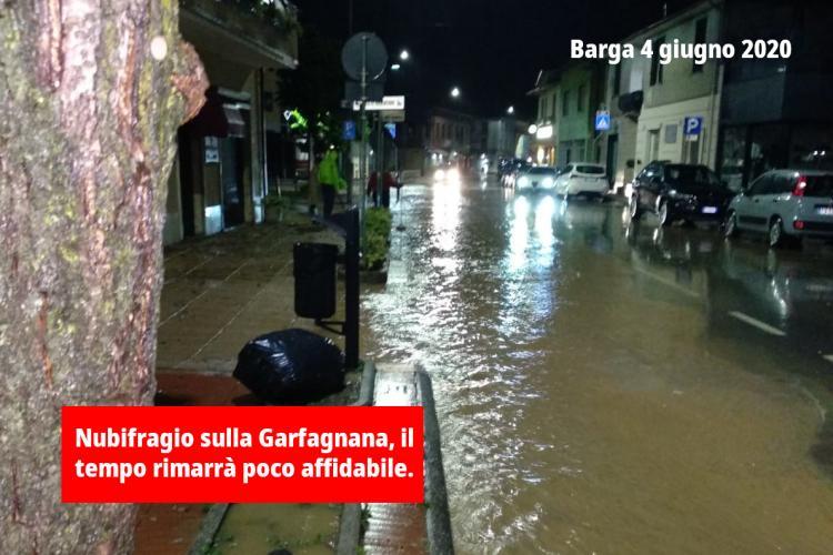 Meteo Barga alluvione giugno 2020
