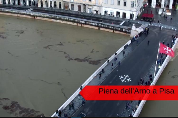 Pisa piena Arno