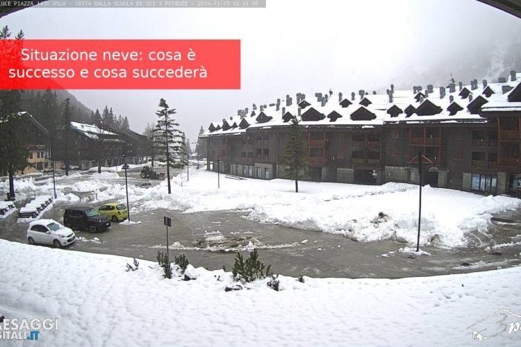 neve in Val di Luce