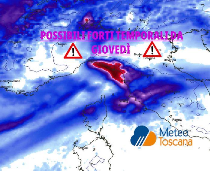 Temporali meteo italia maltempo